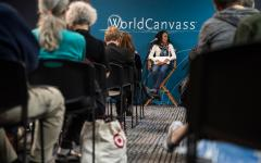 'WorldCanvass' discusses fake news, international implications