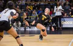 Volleyball notches final home win
