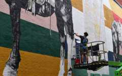Downtown mural promotes education on renewable energy