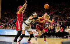 Women's hoops ends regular season on a high note