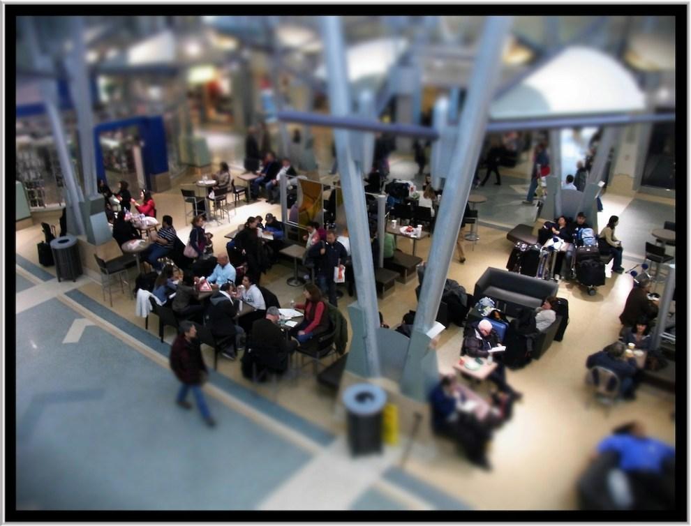 Airport Diorama