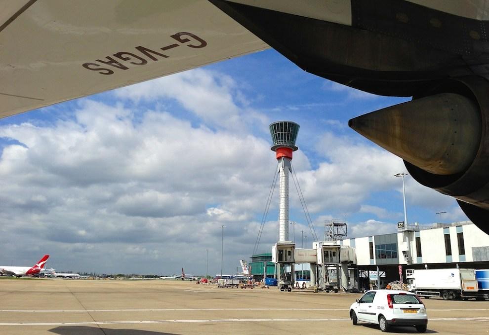 Sunny @ Heathrow