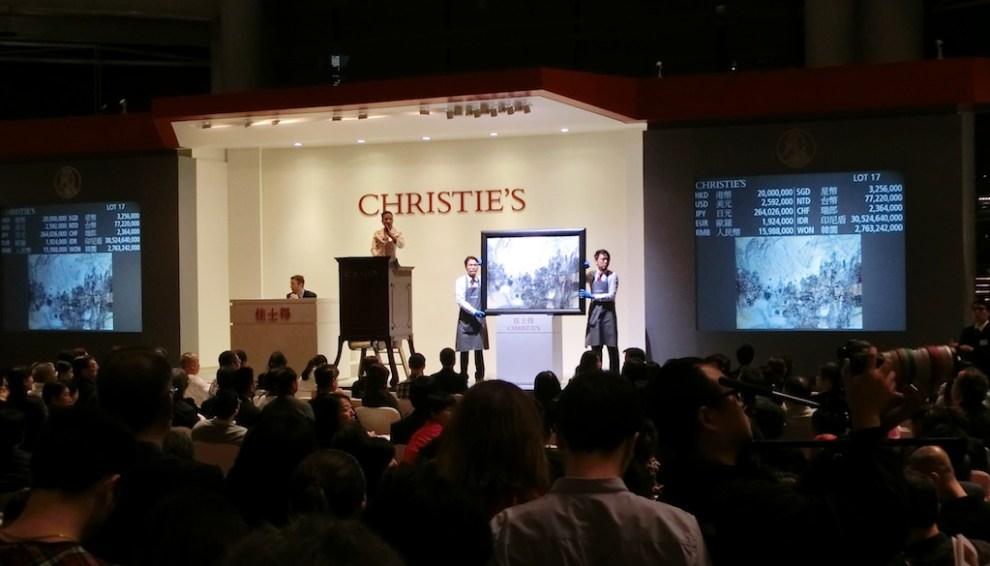 Christie's Sale, Hong Kong