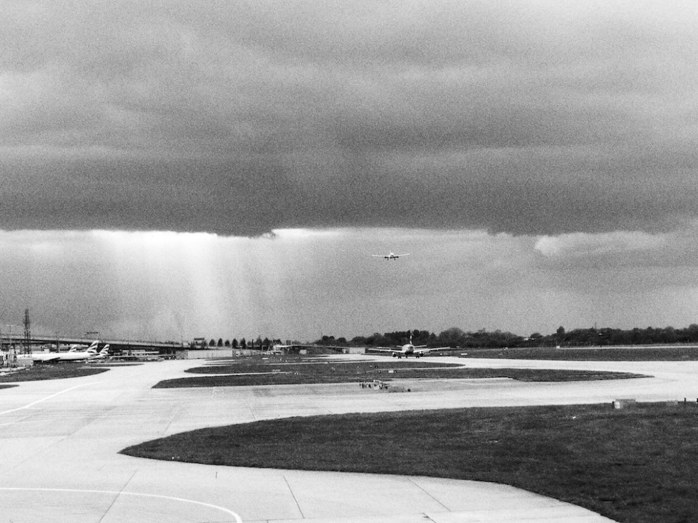 Showers at LHR