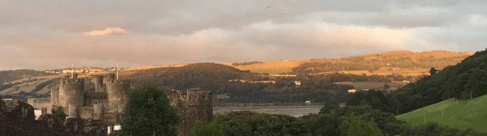 conwycastlesunset