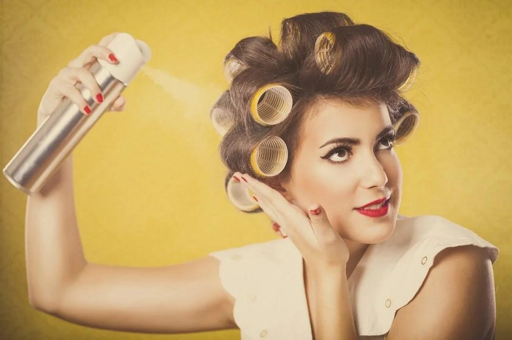 How To Use Hair Spray