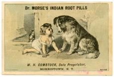 From New York Academy of Medicine's William H. Helfand Collection of Pharmaceutical Trade Cards