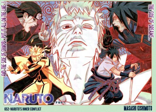 Naruto 652 Poster Inner Conflict Sasuke Obito Hashirama Madara