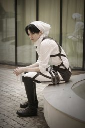 Taking a Break Levi Cosplay by buww