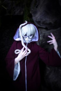 You are my snake Kabuto Cosplay by Shipou-Negiru