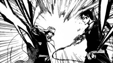 Byakuya stops Hisagi