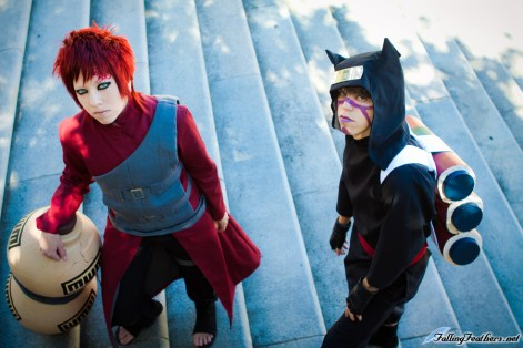 Kankuro and Gaara Cosplay by Nekomatalee