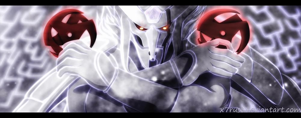 Naruto 689 Kakashi's Kamui Shuriken by x7rust