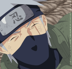 Naruto 689 Kakashi's Tears by Narutorenegado01
