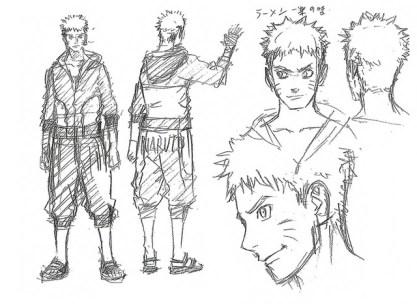 Naruto's new look