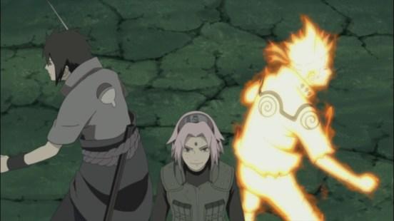 Sakura finally caught up
