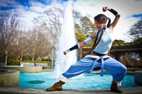 Water Bending Cosplay Korra Avatar by DomiGrowls