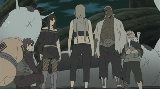 Five Kage's ready to fight