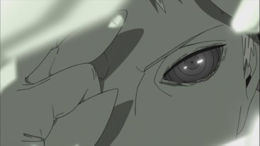 Obito in Ten Tail Jinchuuriki Form Face