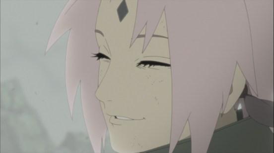 Sakura's Fake Smile