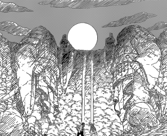 Naruto and Sasuke at Valley of the End