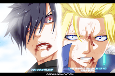 Fairy Tail 409 Sting and Rogue by sleipneir