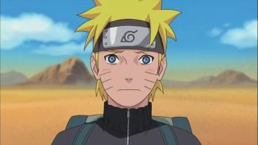 Naruto blushes