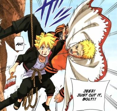 Naruto captures Bolt