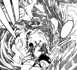 Natsu and Gray work together