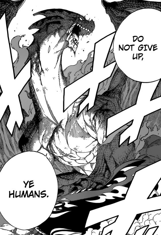 Igneel Do Not Give Up