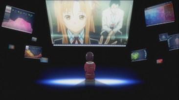 Yuuki listens to Asuna