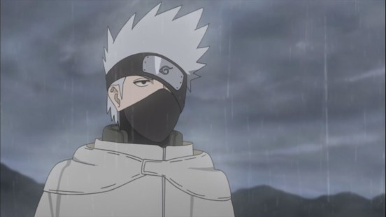 Kakashi at the Rain Village
