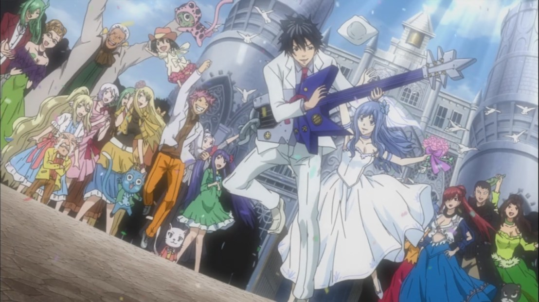 Juvia and Gray get married