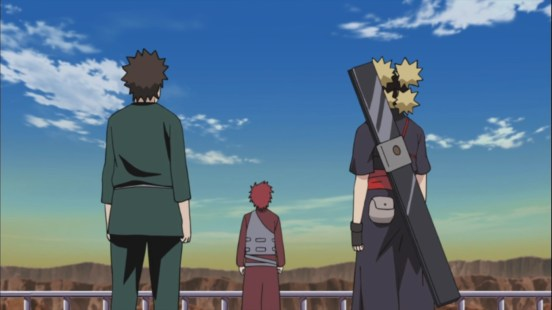 Kankuro Temari and Gaara