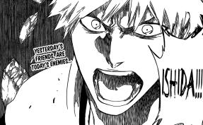 Ichigo angry at Ishida