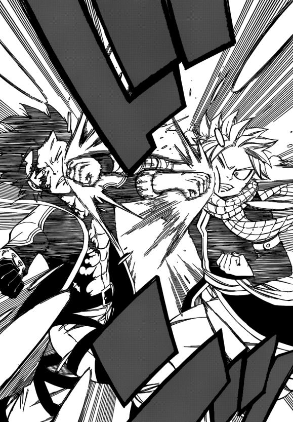 Natsu vs Gray