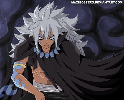 Fairy Tail 436 Acnologia Human Form by maxibostero