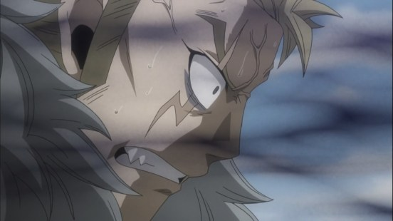 Laxus affected by Anti-Ethernano