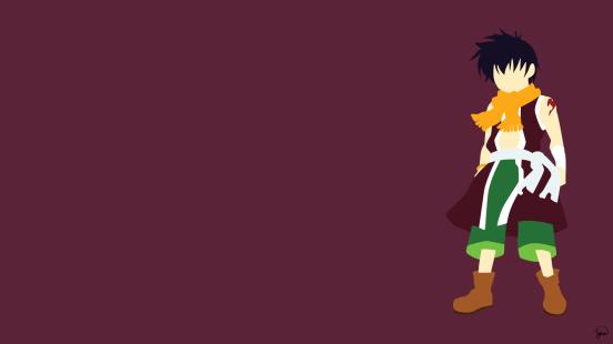 Romeo Conbolt Fairy Tail Minimalistic Wallpaper by greenmapple17