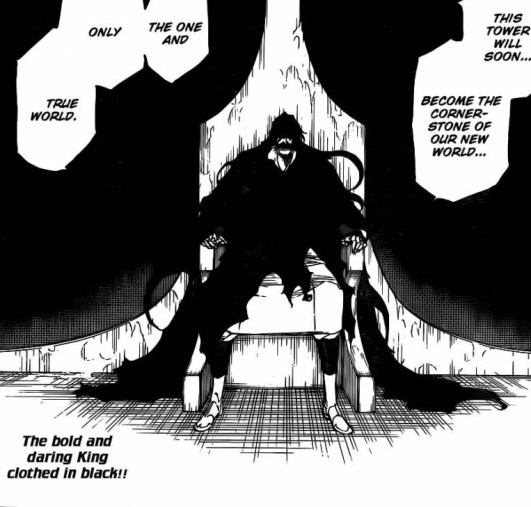 Yhwach on his throne