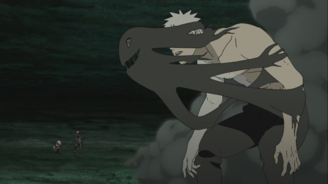 Black Zetsu trying to remove himself from Obito