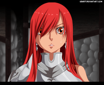 Fairy Tail 439 Erza Scarlet by Uendy