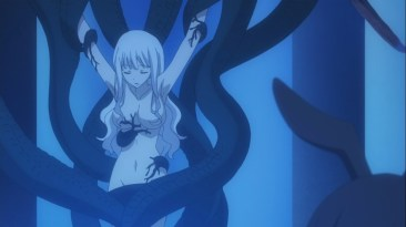 Mirajane turned into Demon