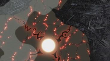 Naruto's mark on Guy