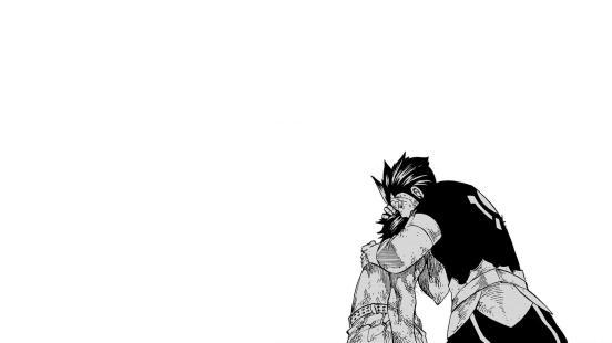 Gray Silver Fairy Tail Manga Wallpaper