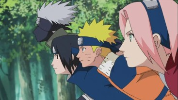 Kakashi Sasuke Naruto Sakura