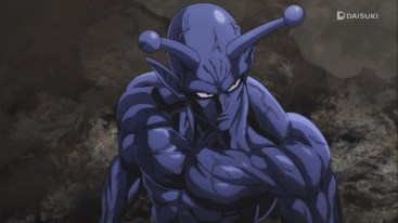 One Punch Man Blue Earth