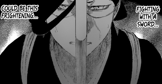 Nanao afraid of using sword