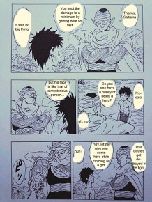 One Punch Man x Dragon Ball 14