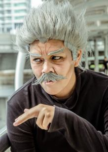 One Punch Man Cosplay Silver Fang by kureo110